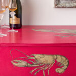 Hollywood-Regency-Capri-Pink-Lobster-Desk-3